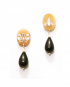 Amore earrings – Bee and Flower