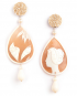 Cameo Marina Decò earrings – Cavallo marino (Seahorse)