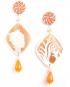 Marina Decò Cameo earrings – Stella marina (Starfish)