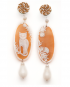 Natura earrings – Cat