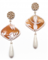 Natura earrings – Dragonfly