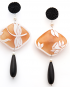 Natura earrings – Dragonfly