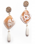 Natura earrings – Snake