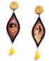 Opera earrings – Ballo in maschera