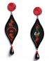 Opera earrings – Carmen