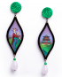 Opera earrings – Turandot