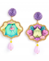 Circo earrings – Acrobata (Acrobat)