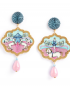 Circo earrings – Cavallerizza (Rider)