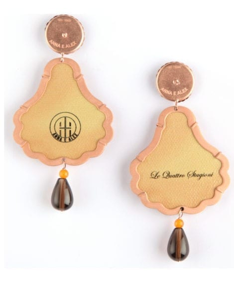 Anna e Alex, arte miniature, le quattro stagioni, autunno, OSTA3, retro
