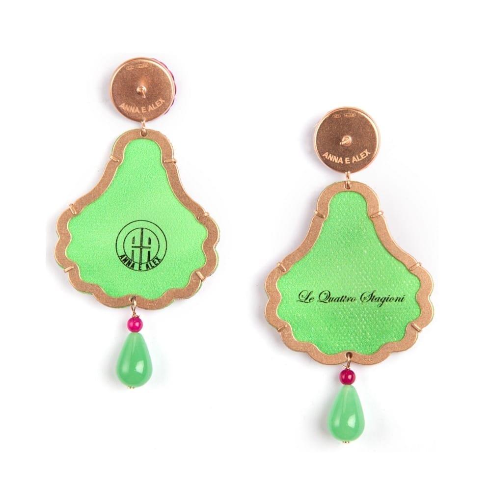 Anna e Alex, arte miniature, le quattro stagioni, primavera, OSTA1, retro