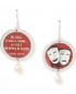 Life is Art earrings – Theater