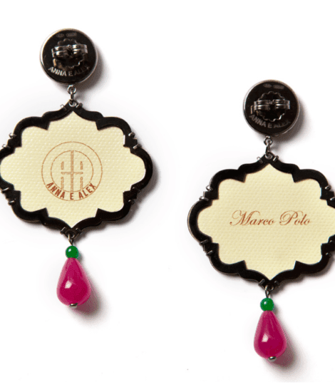 Anna e Alex, arte miniature, marco polo, melograno, OMP3, retro