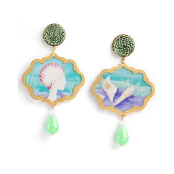 Anna e Alex, arte miniature, marina deco, conchiglia, OMRD4