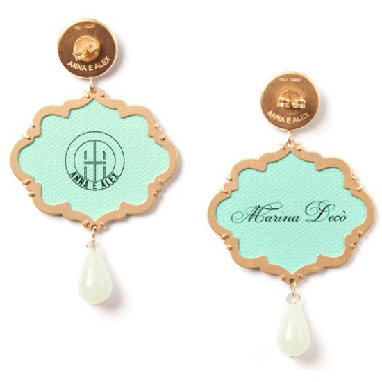 Anna e Alex, arte miniature, marina deco, conchiglia, OMRD4, retro