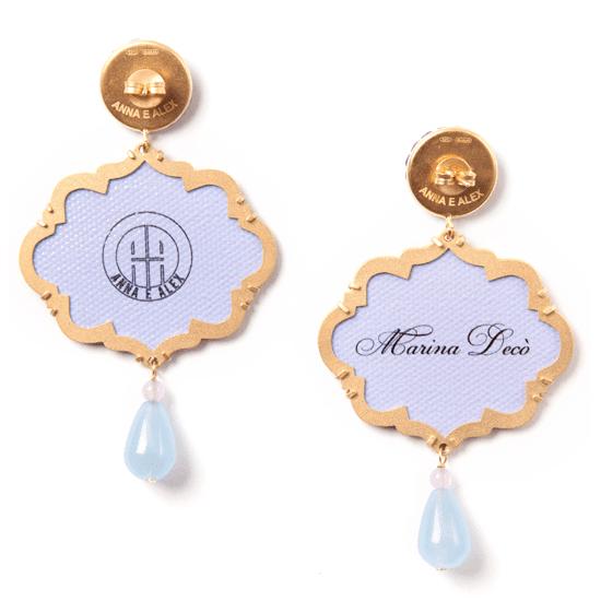 Anna e Alex, arte miniature, marina deco, polipo, OMRD3, retro