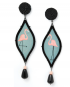 Seduzione Decò earrings – Pink Flamingo