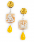 Cameo Bosco earrings – Frog