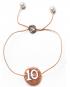 Bracciale Cammeo Charm – Numero dieci