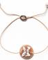 Cameo charm bracelet – Butterfly