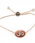 Cameo charm bracelet – Om