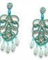 Pavone earrings