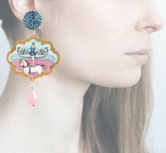 Profile, Anna e Alex, Arte miniature, circo, cavalerizza, OCIR5