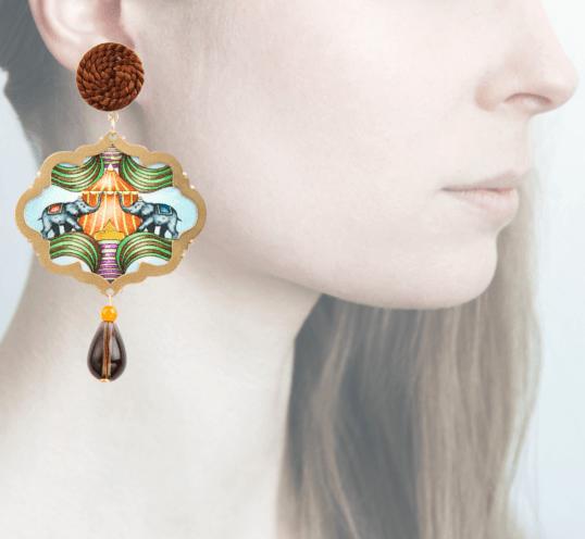 Profile, Anna e Alex, Arte miniature, circo, elefanti, OCIR6