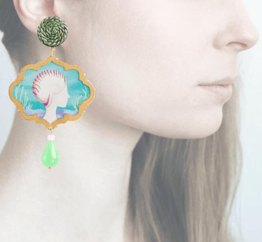 Profile, Anna e Alex, Arte miniature, marina deco, conchiglia, OMRD4