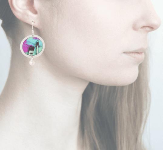 Profile, Anna e Alex, arte miniature, life is art, pittura, OLA5
