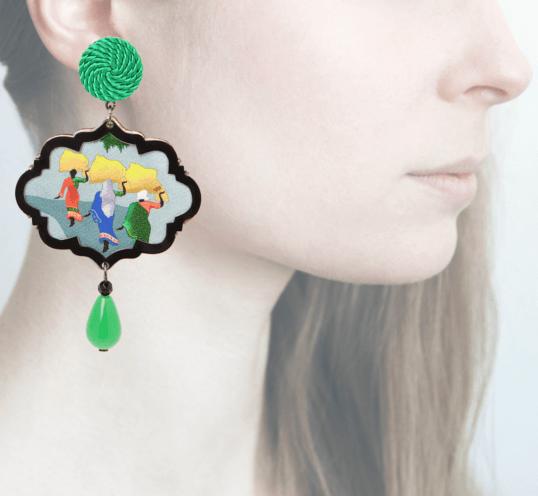 Profile, Anna e Alex, arte miniature, marco polo, india, OMP5.