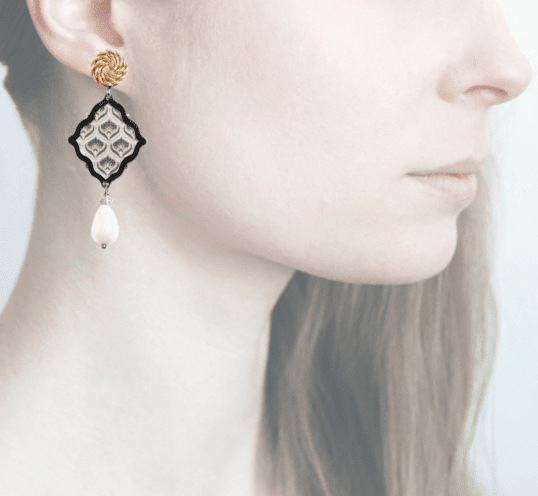 Profile, Anna e Alex, arte miniature, minimosaico, gardenia, OMMS5