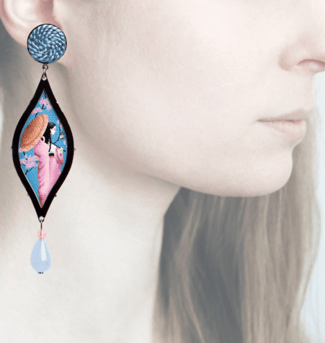 Profile, Anna e Alex, arte miniature, opera, butterfly, OPR2