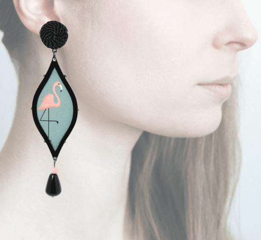 Profile, Anna e Alex, arte miniature, seduzione deco, flamingo, OSD4