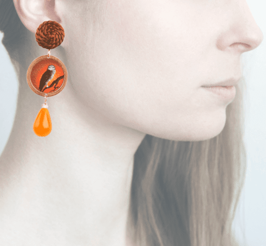 Profile, Arte miniature, Bosco, civetta, OBO1