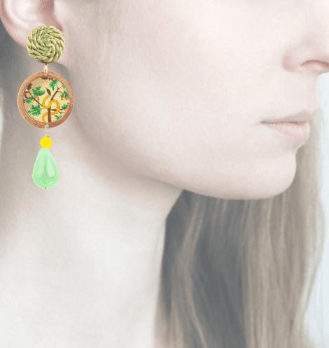Profile, Arte miniature, Bosco, serpente, OBO2