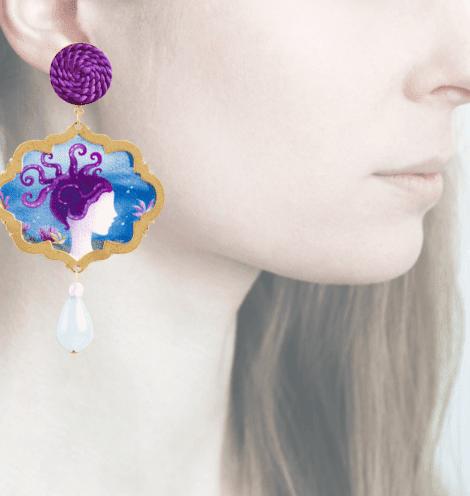Profile, Arte miniature, marina deco, polipo, OMRD3