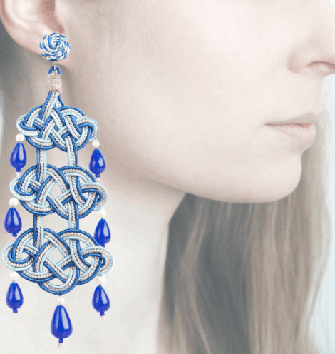 Profile, Passamaneria, campana, blu, OCAD4