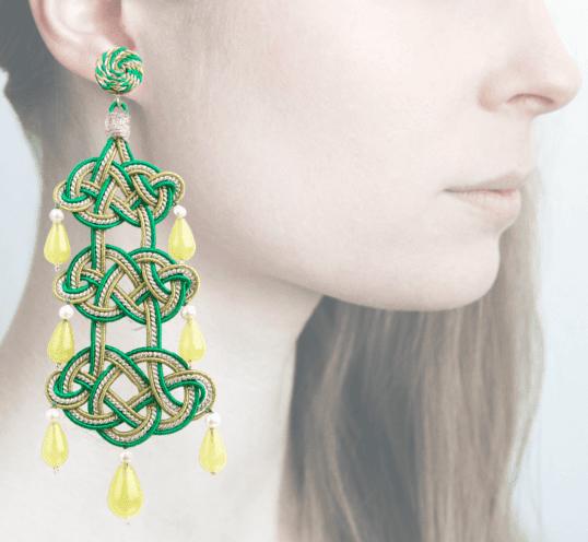 Profile, Passamaneria, campana, verde, OCAD3