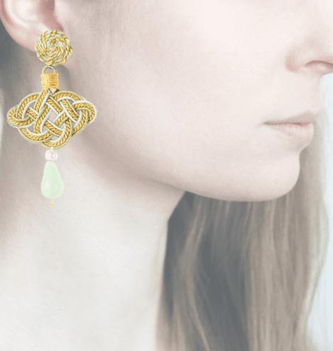 Profile, Passamaneria, lanterna oro, verde, OLO2