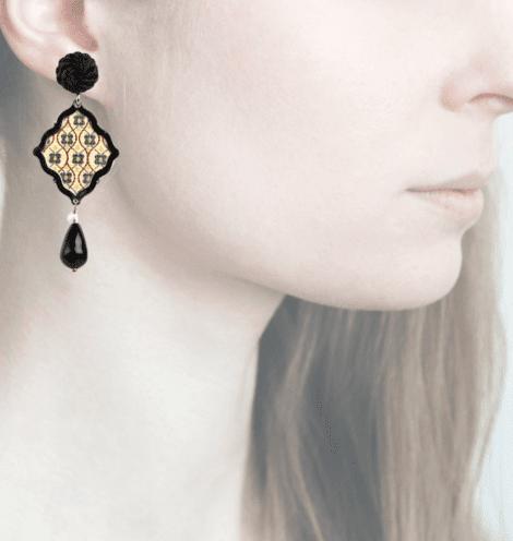 Profile, anna e alex, arte miniature, minimosaico, lilla, OMMS6