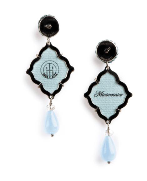 anna e alex, arte miniature, minimosaico, blu,OMMS4, retro