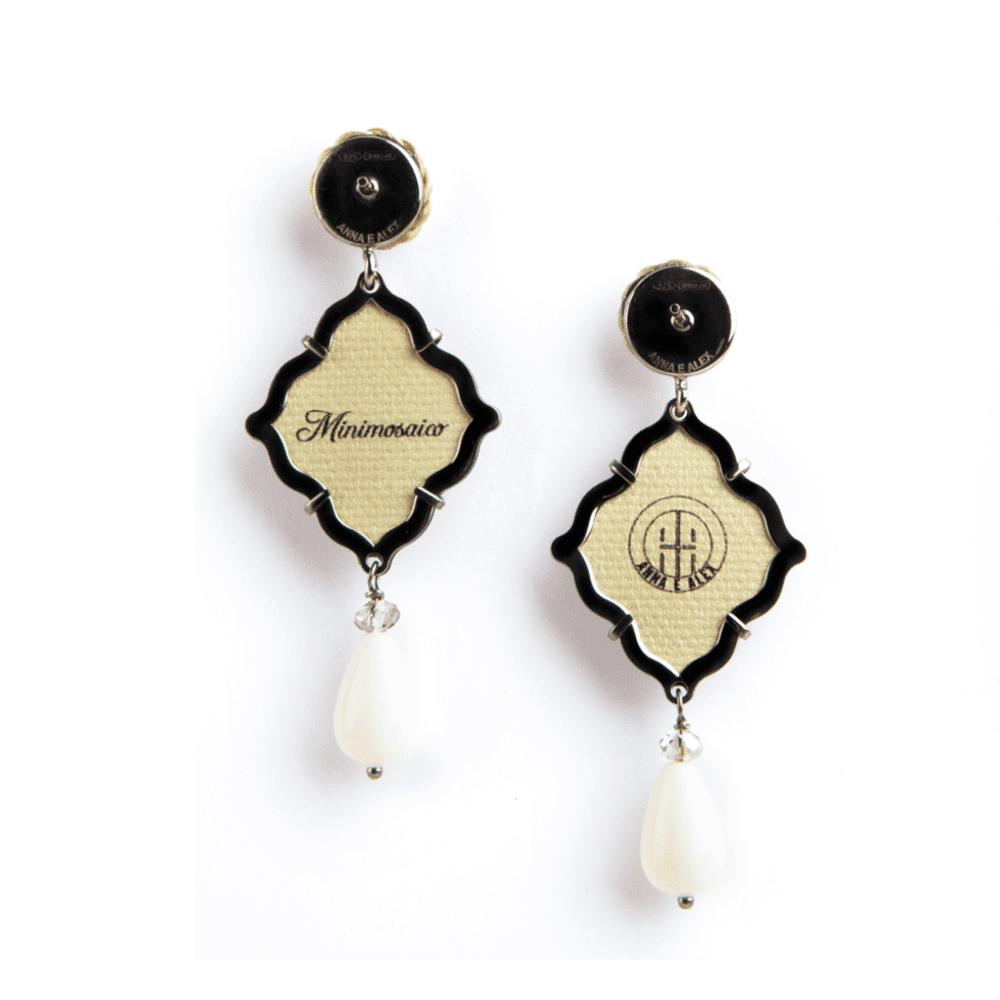 anna e alex, arte miniature, minimosaico, gardenia, OMMS5, retro