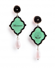 anna e alex, arte miniature, minimosaico, verde, pink OMMS3, retro