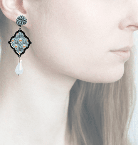 profile, anna e alex, arte miniature, minimosaico, OMMS4, retro