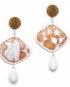 Winter decò earrings – Fox