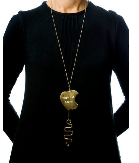 Collana Just for love, indosso