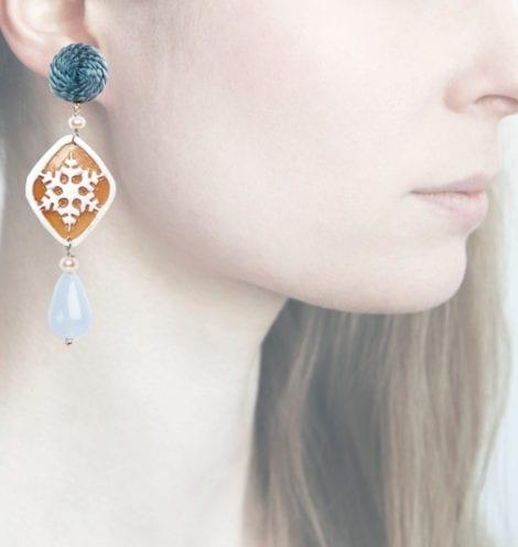 Profile, fiocco blu
