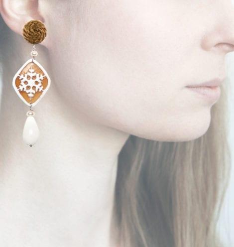 Profile, fiocco oro