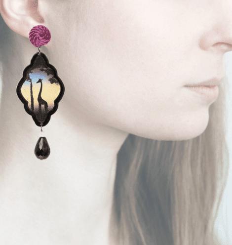 profile, Anna e Alex, Arte Safari Decò collection, giraffa, OSAFG4