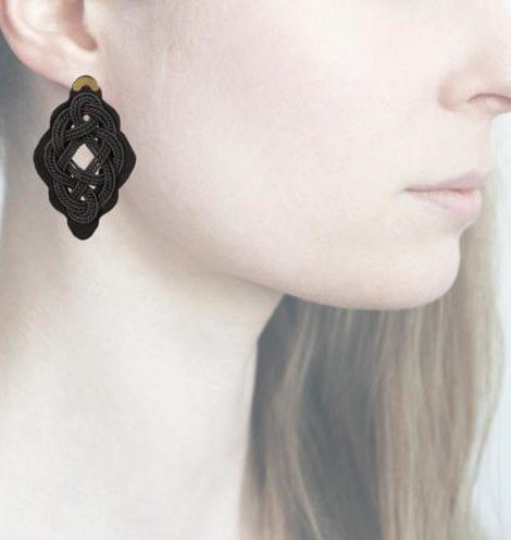 profile, Anna e Alex, Regina Nera Collection, nero, small, ORRNS1